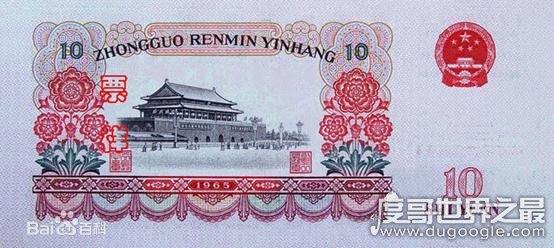 10元人民币背面图案是哪里,2019版背景图案是长江三峡