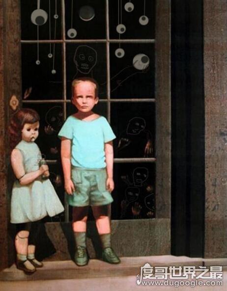 世界上最恐怖的画作,迪奥的世界致千人死亡(故事是编造的)
