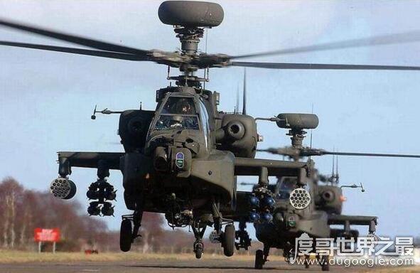 世界十大武装直升机战力排名,美国阿帕奇最厉害(武直-10上榜)