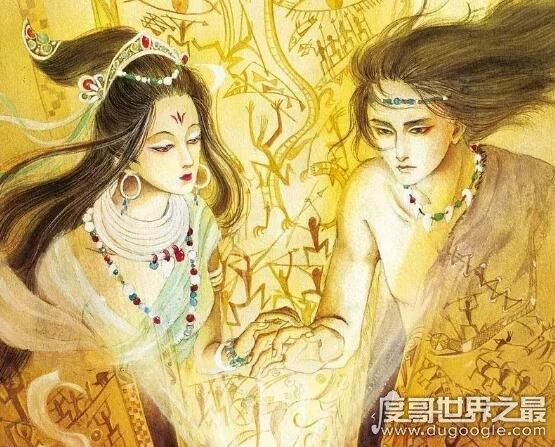女娲和伏羲是什么关系,两人先是兄妹后结合成夫妻