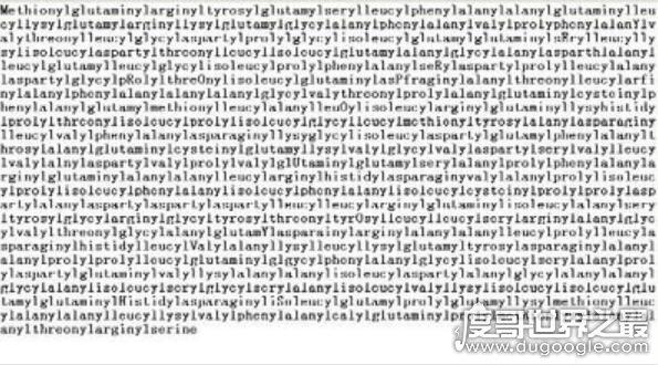 世界上最长的单词,189819个字母组成读完需要3.5小时(乃谣言)