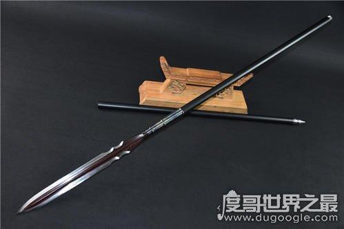 历史上的中国十大名枪盘点,项羽的破阵霸王枪排第一