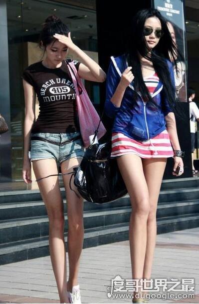 网评中国第一美腿皇后,长腿MM孔燕松腿长117厘米(附美腿照)