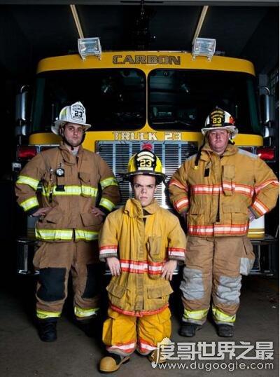 世界上最矮的消防员,身高仅1.2米却全身都是肌肉(迷你浩克)