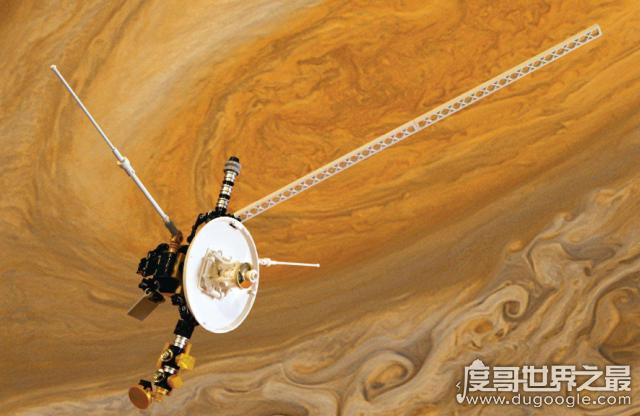第一个脱离太阳系的人造卫星,先驱者11号(已飞行了46年)