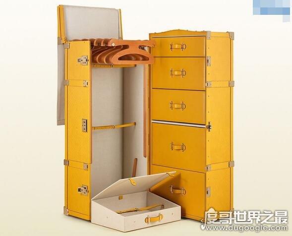 世界上最贵的行李箱排名,路易斯威排行第一(售价17万)
