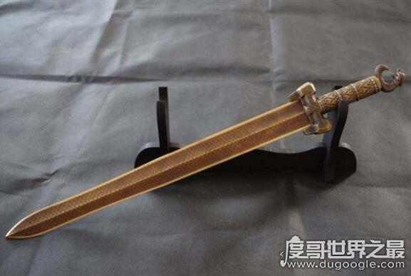 中国十大名剑,最出名的就是干将莫邪(轩辕剑最厉害)