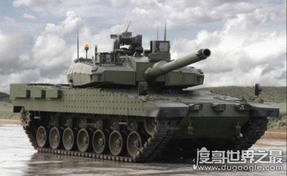 世界十大最佳主战坦克,中国的99A主战坦克排第二位