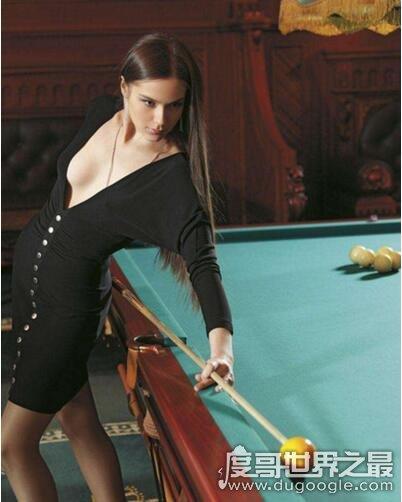 俄罗斯台球女神,阿纳斯塔西美照欣赏(不仅颜值高还是学霸)