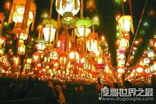 元宵节赏灯始于什么时期,源于汉代佛教仪式(隋唐规模最大)