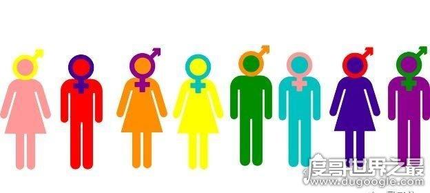 世界上最常见的十种性取向,异性恋和同性恋常见(泛性恋最宽泛)