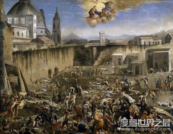 人类历史上的十大瘟疫,榜首是黑死病(造成欧洲三分之一人死亡)