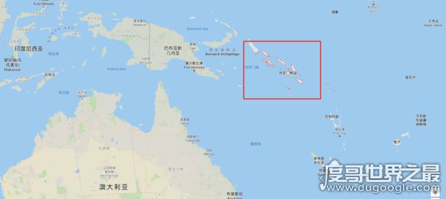所罗门群岛是哪个国家,岛屿名就是其国名(有幸运之岛的美称)