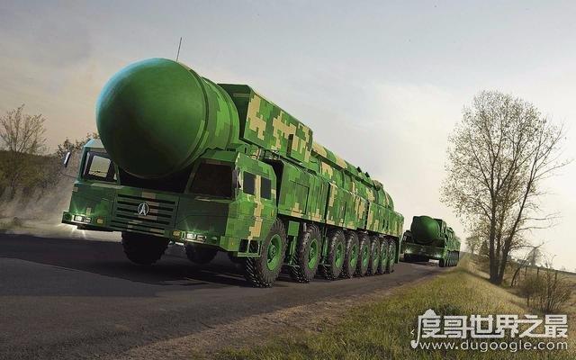2019年世界最厉害的导弹排名,中国东风-41导弹世界第二