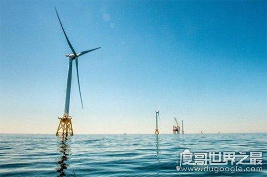 世界上最大的风力发电机,叶片长达107米(可供应16000个家庭)