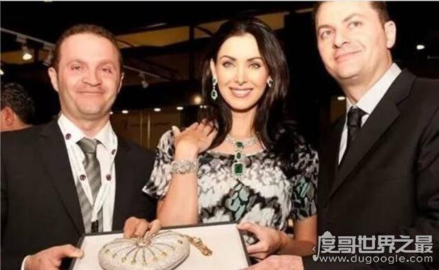 世界上最贵的手包,包身镶钻4500多颗(售价高达2516万元)