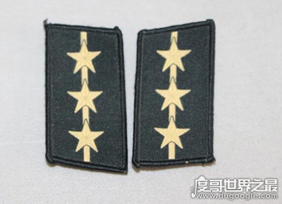 上尉是什么级别,上尉是尉官的最高级别(硕士学位军官可授予)