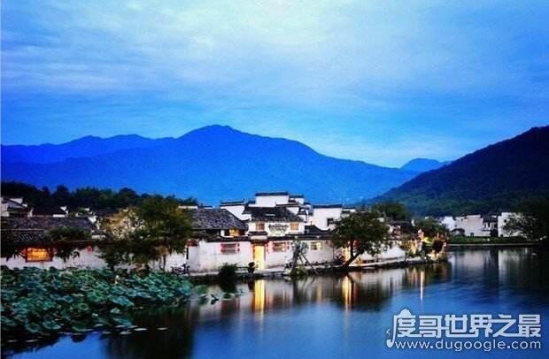 宏村在哪里个城市,安徽省黄山市(闻名世界的徽派代表建筑村落)