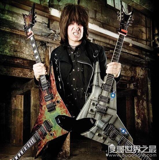 世界第一吉他手,被称为无影手的安格鲁在速度上傲视群雄