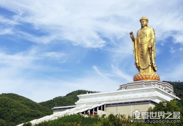 中国最高最大的佛像,河南鲁山大佛(总高208米相当于70层楼)