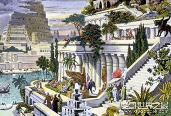 古巴比伦空中花园,已被永远埋在历史长河中(曾是世界七大奇迹之一)