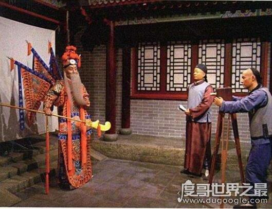 中国第一部电影,1905年电影《定军山》诞生于北京丰泰照相馆