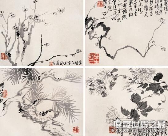 扬州八怪是哪八个人,画竹子的是谁?(郑板桥以兰竹石闻名)