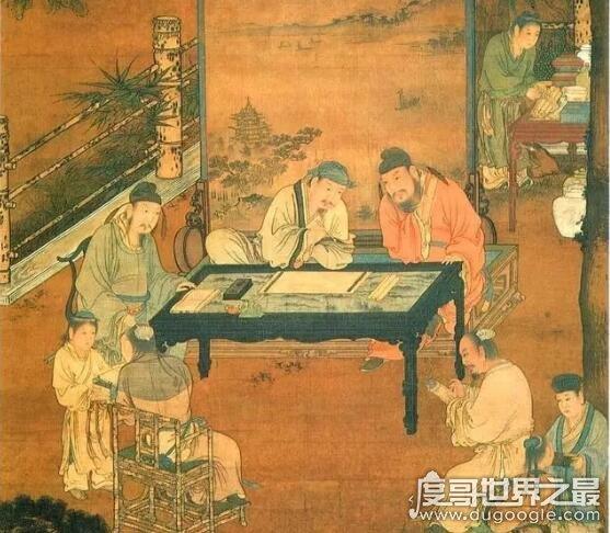 南宋四大家是哪4人,分别是李唐、刘松年、马远、夏圭