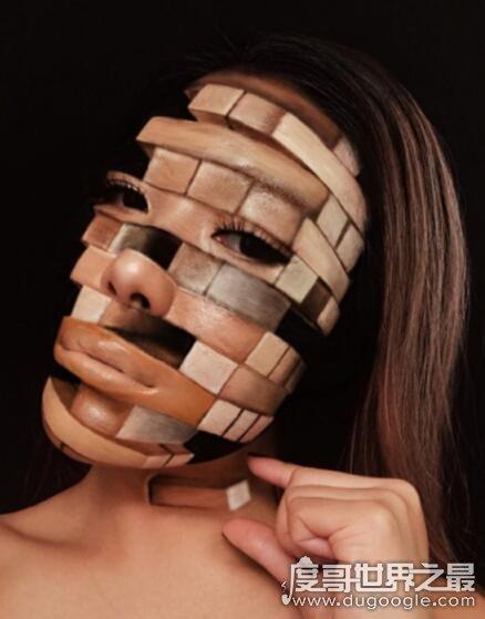 最恐怖的万圣节妆容盘点,面部镂空妆最受欢迎(吓到亲妈都认不出)