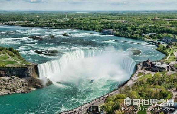 世界上最大的跨国瀑布,尼亚加拉大瀑布(跨美国和加拿大)