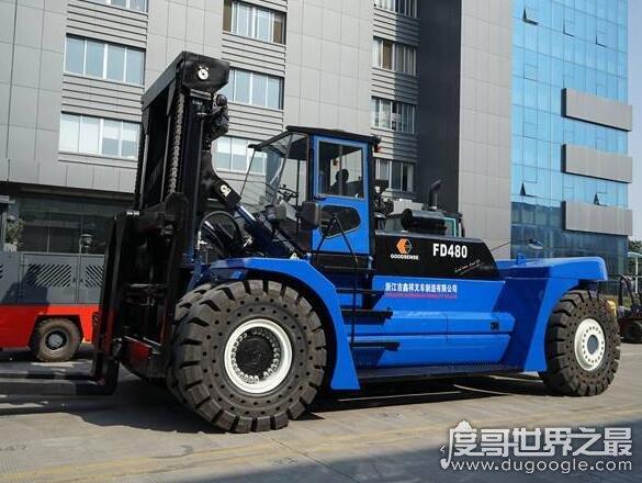 世界上吨位最大的叉车,卡哥特科集团的重型叉车(最大载荷90吨)