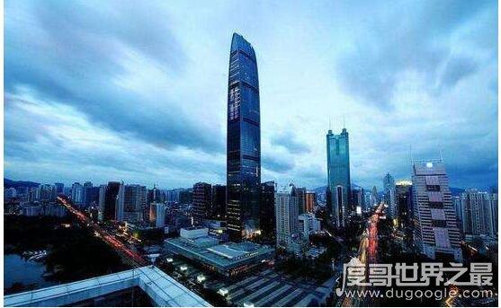 深圳京基100大厦多少米?排世界第几?(441米/全球第17高楼)