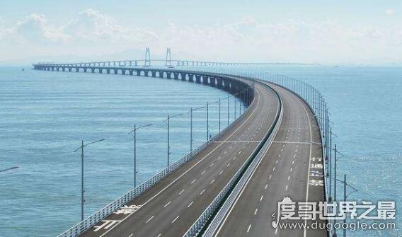 港珠澳大桥全长多少公里,桥隧全长55千米(世界上最长的跨海大桥)