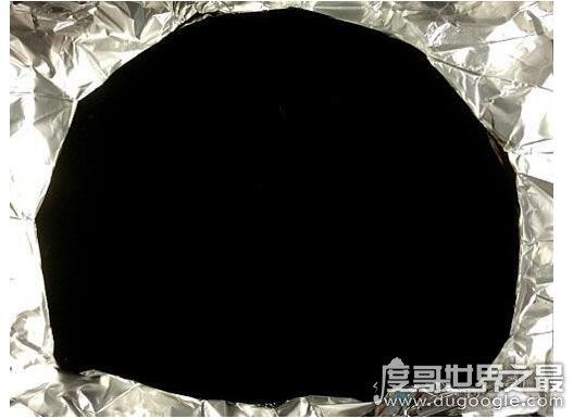 世界上最黑的物质,纳米碳管黑体可以吸收99.965%的可见光