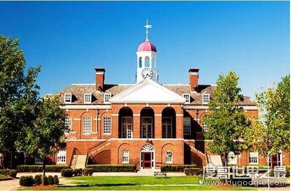 美国历史上第一所高等学府,是哈佛大学(建立于1636年)