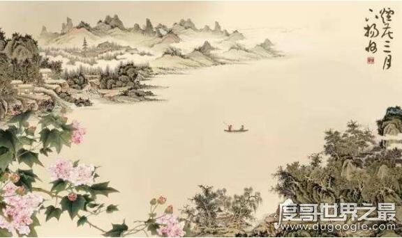 烟花三月下扬州烟花指的什么,是指柳絮如烟、繁花似锦的春天