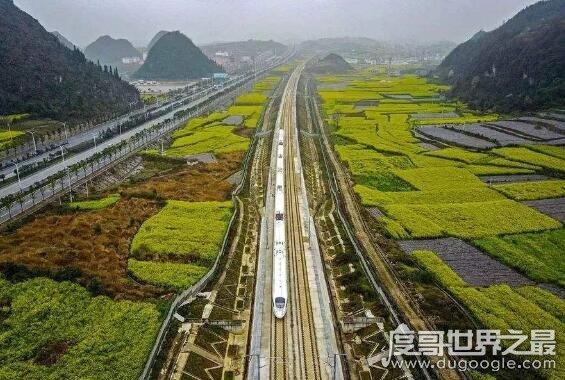 中国最长的高铁线路,徐新高铁全长3176千米(盘点中国超长高铁)
