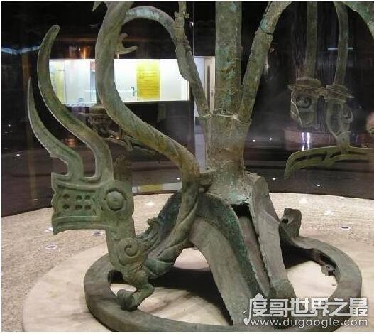 三星堆青铜神树代表什么树,是一种具有宗教象征意义的神树