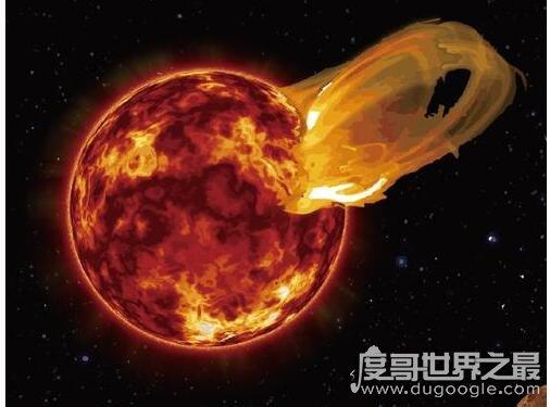 距离地球最近的恒星,比邻星是距离太阳系最近的恒星