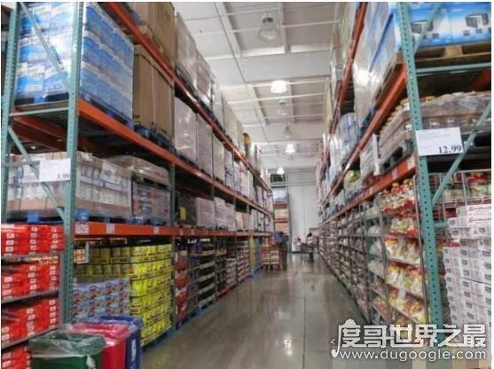 世界大型超市排名, 美国沃尔玛年营业额5144亿美元(世界500强第1)