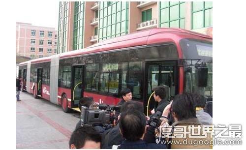 世界上最长的公交车,南昌制造出长达27米的公交车(可载客270人)