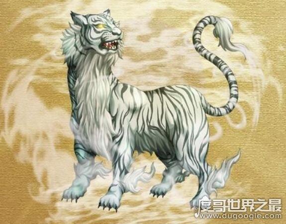 中国古代十大远古神兽,青龙/白虎/玄武/朱雀还被称为天之四灵
