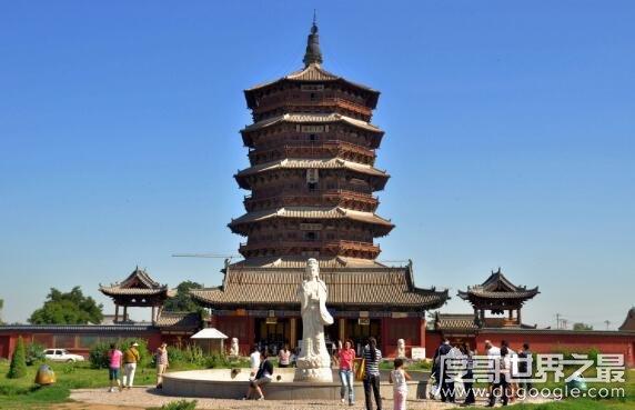 中國最高的木建築,山西應縣木塔(釋迦塔)塔高67.31米