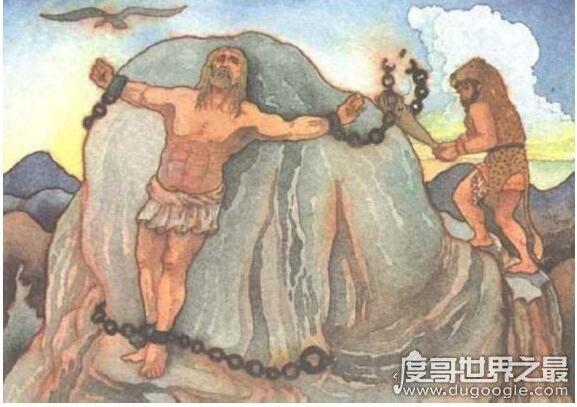 普罗米修斯的故事,勇敢盗取火种为人类带来光明的故事