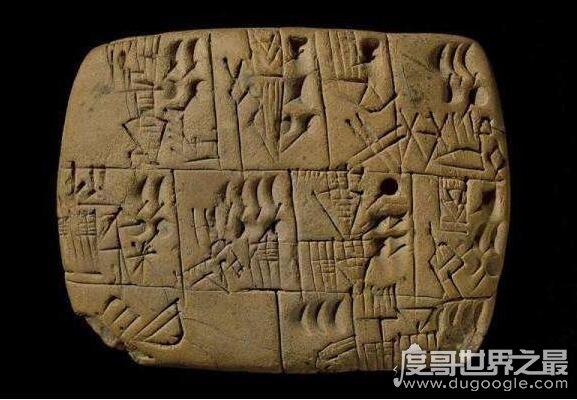 世界上最古老的文字盘点,四种最古老的文字只有汉字沿用至今