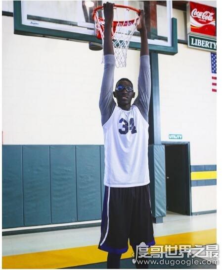 nba现役最高球员,塔科·法尔身高2.31米(加盟凯尔特人)