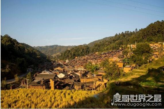 中国人口文化第一村,贵州占里村的秘密(换花草能决定生男生女)