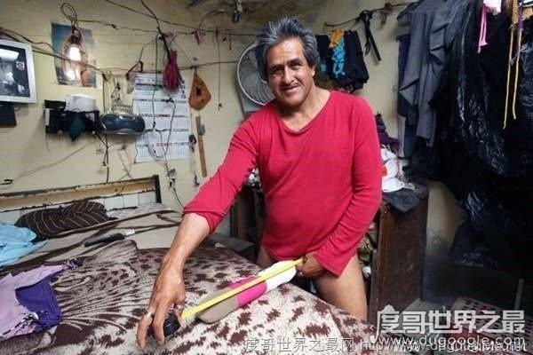 世界最长的阴茎 54岁男子阴茎长48厘米