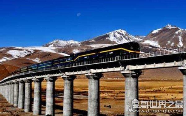 历时近50年修建青藏铁路,青藏铁路创造的世界之最(修建过程困难重重)