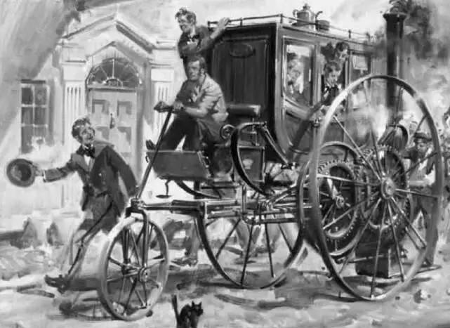 世界上最早的火车,理查德·特里维西克研发(史蒂芬森投入使用)
